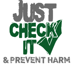 "Check IT logo ""Just Check It"""