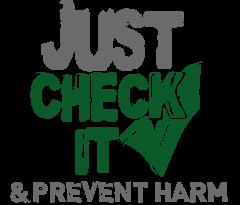 "Check IT logo ""Just Check It"""